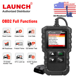 Launch Creader3001 Cr3001 Obdii Eobd All Function Diagnostic Code Reader Scanner