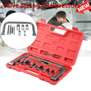 10x Valve Spring Compressor C Frame Service Auto Motorcycle Small Engine Tools