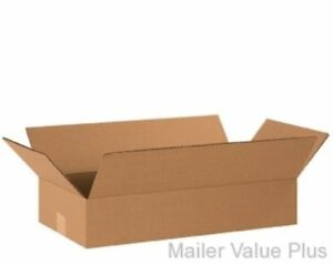 25 20 X 10 X 4 Corrugated Shipping Boxes Packing Storage Cartons Cardboard Box