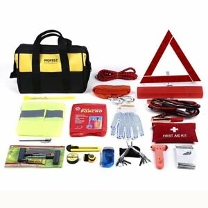 Portable Roadside Assistance Auto Emergency Kit Reflective Safety Triangle