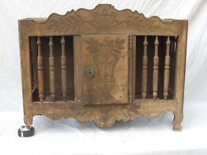 Antique French Panettiere Bread Cabinet From A Patisserie19th C