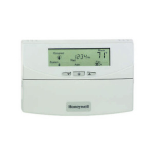Honeywell Commercial Thermostat Programmable 3 heat 3 cool White T7351f2010