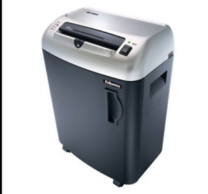 Fellowes Powershred Sb 85c Heavy duty Confetti cut Shredder
