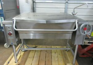 Vulcan 30 Gallon Electric Tilt Skillet Braising Pan Model Vets30