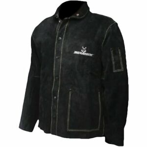 Caiman Black Boarhide 30 jacket Welding apparel Medium new