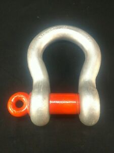Cm Wll 35 T Ton 2 Inch Screw Pin Usa Clevis Shackle Lifting Rigging