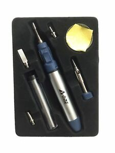 A one Blue Function Professional Butane Gas Micro Blow Torch Soldering Iron Kit