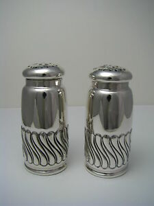 Gorham Sterling Silver Salt Pepper Shakers By Gorham Ca1887 Excel Cond Rare