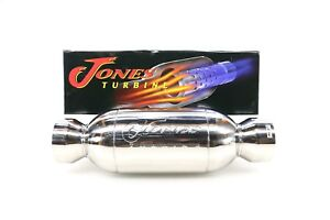 New Jones Performance Turbine Muffler Jt4040 4 In 304 Stainless Steel Universal
