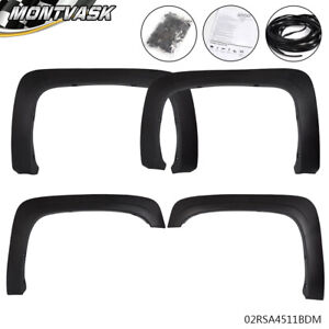 Textured Factory Oe Style Fender Flares For 2007 2013 Chevrolet Silverado 1500