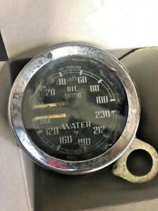 Smiths Dual Oil Water Temperature Gauge Gd1501 14a
