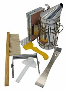 Blisstime Beekeeping Tool Kit Set Of 6 Bee Hive Smoker Brsuh Accessory bee