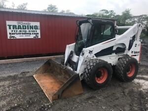 2011 Bobcat S850 Skid Steer Loader W Cab And All The Options
