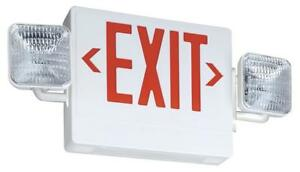 Lithonia Lighting Ecr Led M6 Contractor Select Thermoplastic Led Emergency Exit