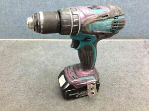 Makita Lxph01 Lxt 18v Cordless 1 2 Hammer Driver drill With Battery