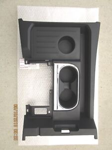 14 19 Toyota Tundra Center Console Bezel Trim With Cup Holer Black Brand New