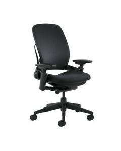 Steelcase Leap Chair 4 way Adjustable Arms Adjustable Lumbar Support v2