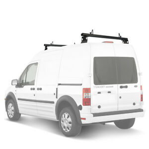 Aluminum 2 Bar 50 Cargo Van Roof Ladder Rack Fits Ford Transit Connect 2008 13