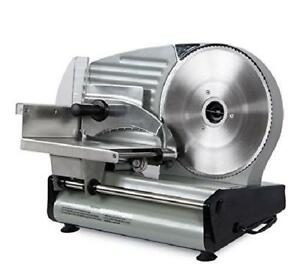 8 7 Inch Blade 180w Commercial Meat Slicer Electric Slice Veggie Cutter Kitchen