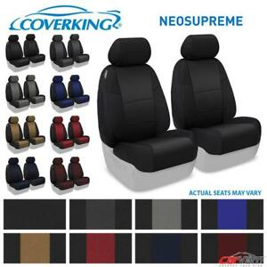 Coverking Neosupreme Front Custom Seat Covers For 2016 2018 Toyota Tacoma