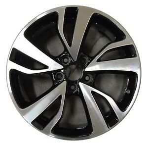 19 Honda Odyssey 2018 2019 Factory Oem Rim Wheel 64120 Gloss Black Machined