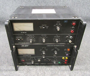 Lab volt Model 438 Test Module Dc Meter Vom sine Square Wave Generator tested