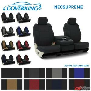 Coverking Neosupreme Front Custom Seat Covers For 2014 2018 Toyota Tundra