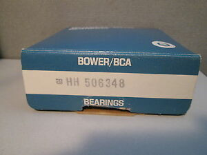 Hh506348 Bower Tapered Roller Bearing