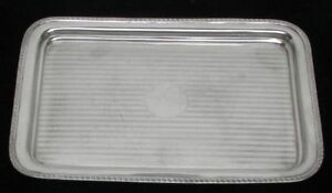 1926 Birmingham Sterling Silver 11 Vanity Rectangle Tray