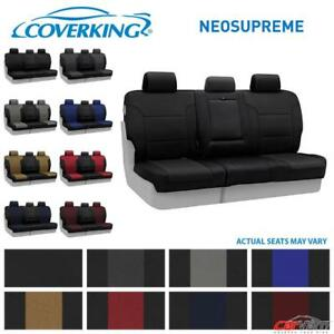 Coverking Neosupreme Rear Custom Seat Cover For 2016 2018 Honda Pilot