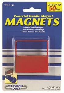 Master Magnetics 07213 Powerful Handle Magnet 2 In L X 3 4 In W X 2 In H 50 Lb