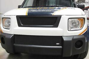 Fits 2003 2006 Honda Element Mx Grille Upper Insert Black