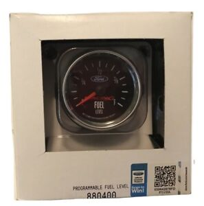 Auto Meter Ford Racing 2 1 16 Programmable Fuel Level Gauge 0 280 Ohm