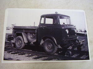 Willys F150 Rail Way Truck 11 X 17 Photo Picture