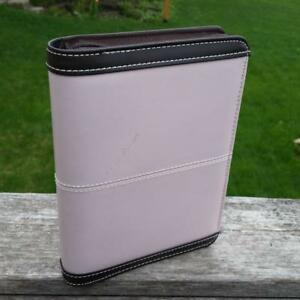 Franklin Covey 365 Organizer Zipper Day Planner Brown Pink 6x8 Compact Insert 4