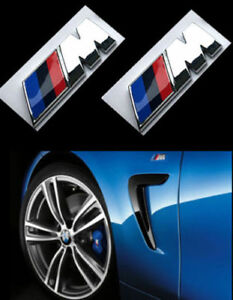 Bmw M Badge Emblem Sticker Car Rear Trunk Decal Bmw M1 M3 M4 M5 M6 High Quality