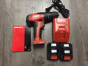 New Hilti Sf 2h a 12v Lithium Ion Cordless Hammer Drill Driver Set