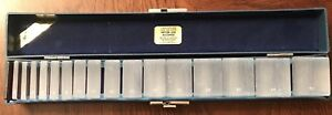 Gulden S 16 Ophthalmics Prism Set With Case