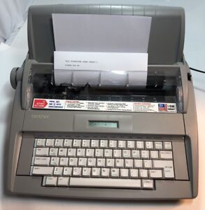 Brother Sx 4000 Electronic Typewriter Electric