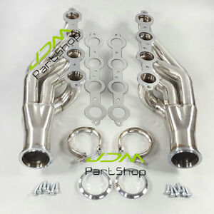 Turbo Manifold Exhaust Header For 97 14 Chevy Small Block V8 Ls 4 8l 5 3l 5 7l
