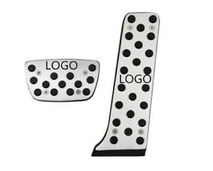 No Drill Gas Brake Pedals Cover For Lexus Tcr Non Slip Sport Foot Pedals Pad