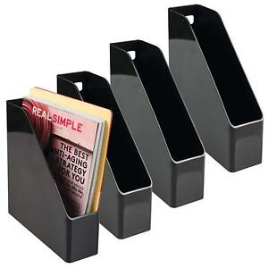 Mdesign Office Supplies Desk Organizer For File Folders Magazines Notebooks