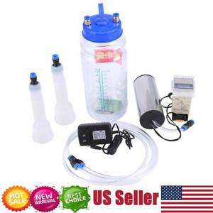 2l Electric Barrel Cows Portable Milking Machine Vacuum Pump Milker Tank Tool Us