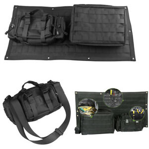 Tailgate Bag Cargo Liner Cover Tool Organizer Storage Pocket For Jeep Wrangle y