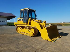 1999 Caterpillar 953c Track Loader Diesel Engine Hydraulic Hystat Machinery Cat