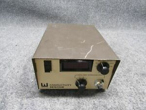 Wescan Instruments 213 Conductivity Detector tested