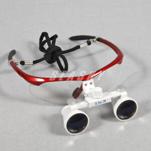 Usa 20x Dental 3 5x Binocular Surgical Medical Loupes Glasses Magnifier Zoom