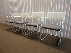 Vitra Visasoft Visavis Guest And Conference Chairs Set Of 4 By Antonio Citterio