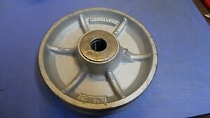 1 Albion Vg0840031 V grove Wheel 8 X 2 1 2 Gate Caster Material Handling W out
