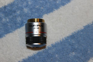 Olympus A 4x 0 10 160 Microscope Objective Ch Ch2
